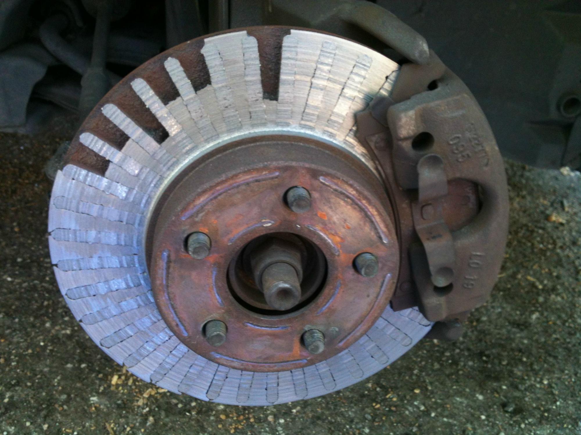 Когда надо менять тормозные диски?