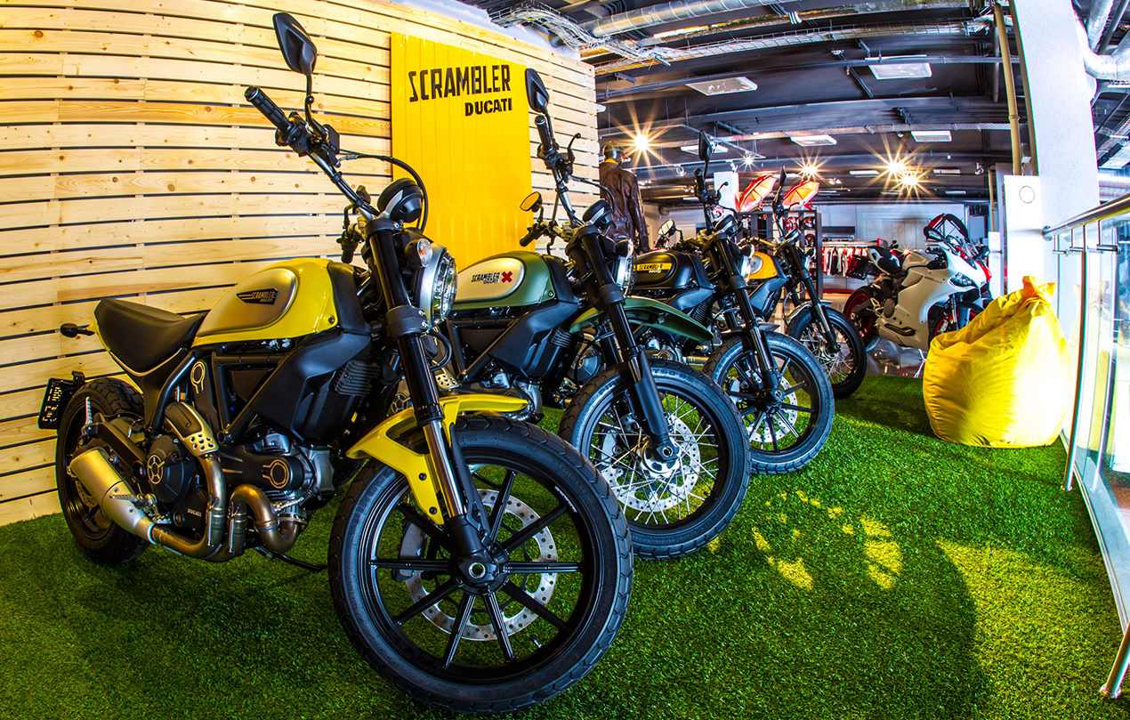 Продажа мотоциклов в Мотосалоне