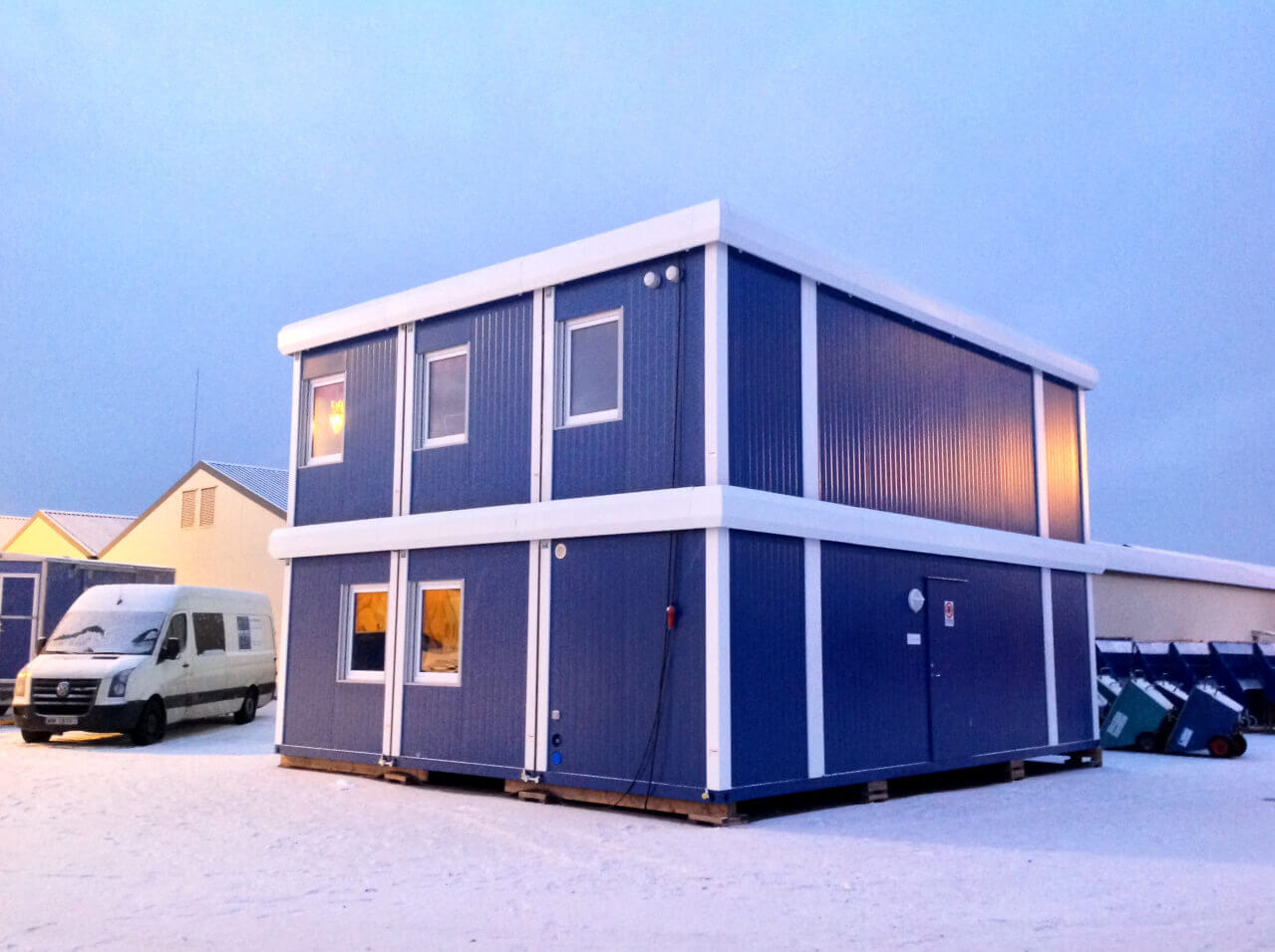 Мобильные здания для производственных и бытовых целей